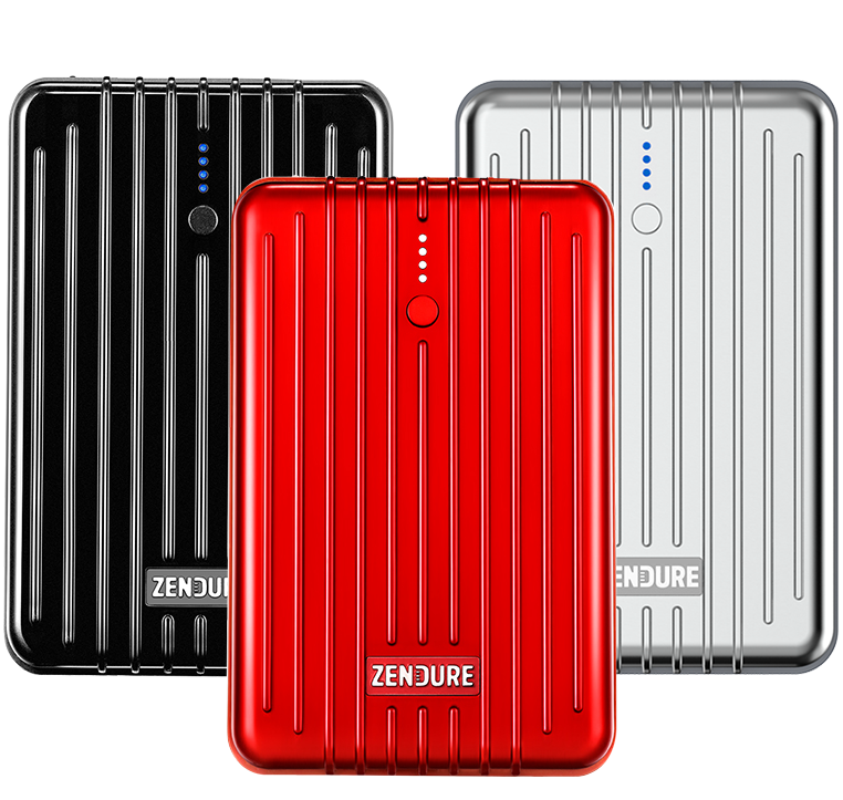 A3PD Portable Charger (10,000 mAh) - Red