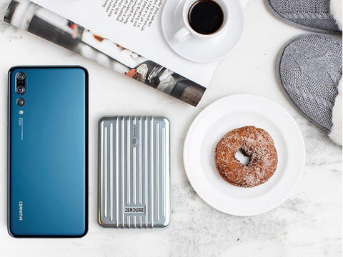 Huawei P20 Zendure Power Bank Donut