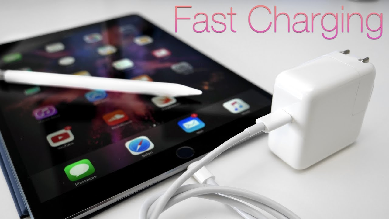 How Do I Charge 2018 iPad Pro Faster?