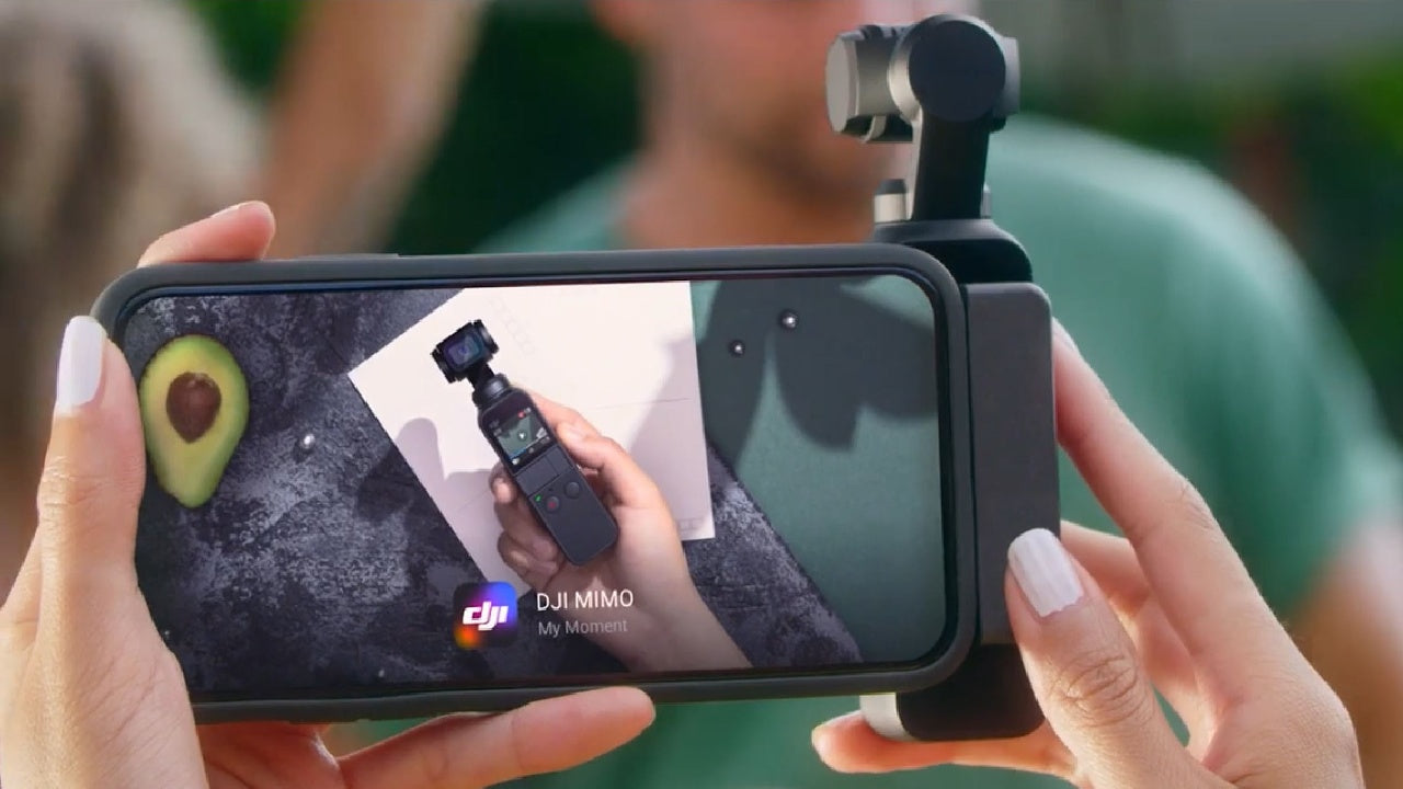 Using DJI Osmo Pocket