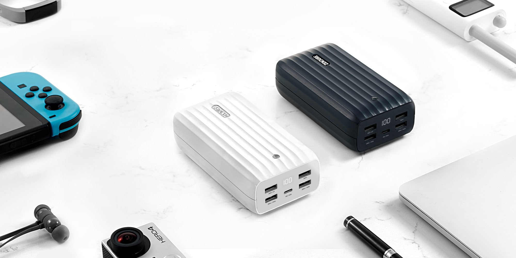 Zendure X6 power bank and hub