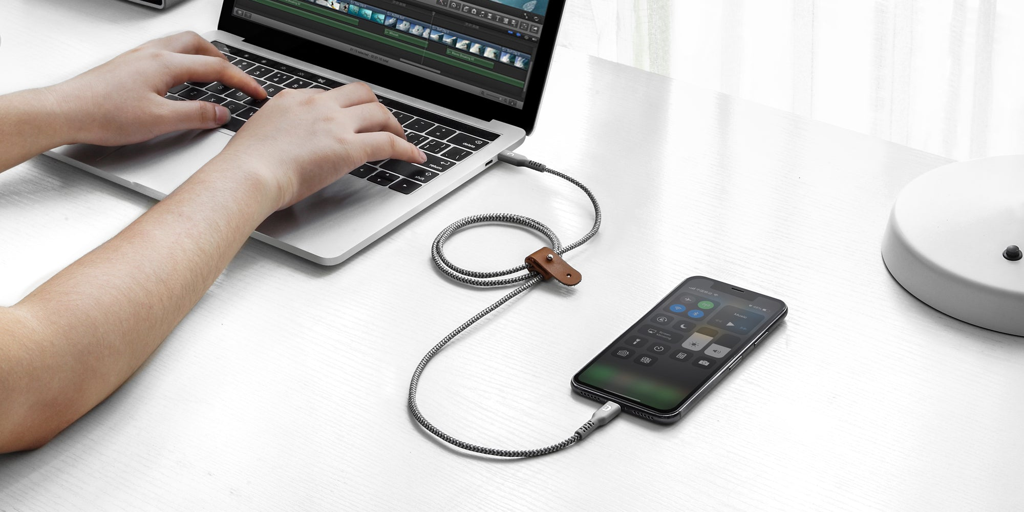 SuperCord Kevlar USB-Kabel