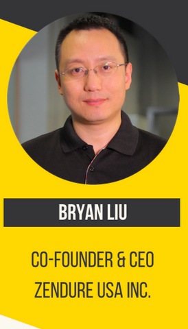 Bryan Liu, Co-founder & CEO of Zendure USA Inc.