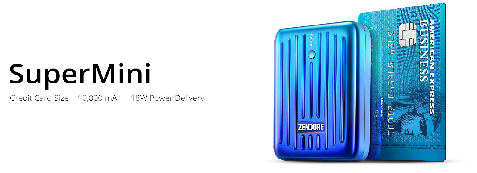 Zendure SuperMini Portable Chargers - Compact and Lightweight