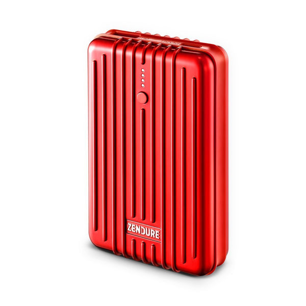 A3TC USB-C Portable Charger (10,000 mAh) - Red