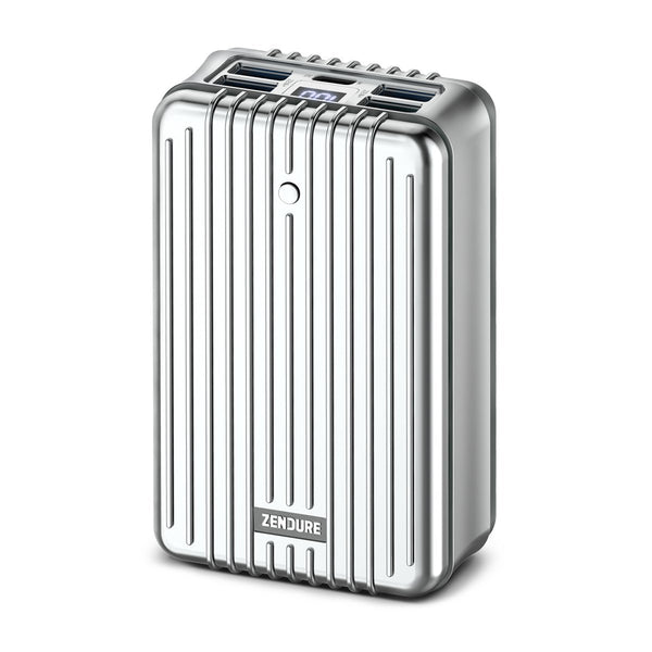 A8PD 26,800mAh Portable Charger with USB-C Input/Output - Silver