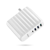 63W USB-C PD Wall Charger - White