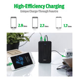 A2 Portable Charger (6,700 mAh) - Black