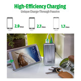 A2 Portable Charger (6,700 mAh) - Silver