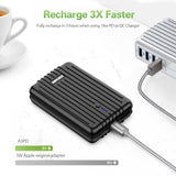 A3PD Portable Charger (10,000 mAh) -Black