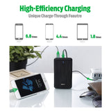 A5 Portable Charger (16,750 mAh) - Black