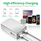 A8 QC Portable Charger (26,800 mAh) - Silver