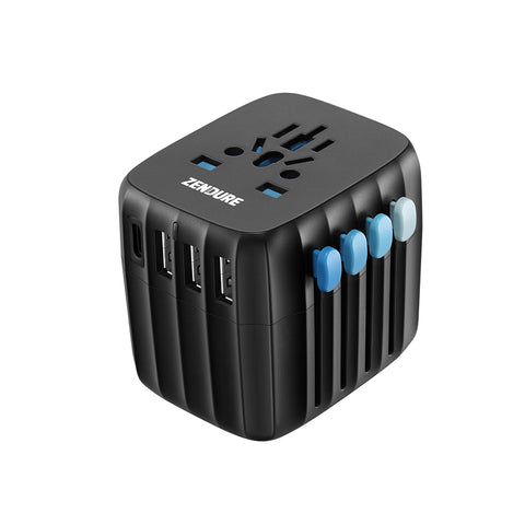 Passport 30W Global Travel Adapter - Black