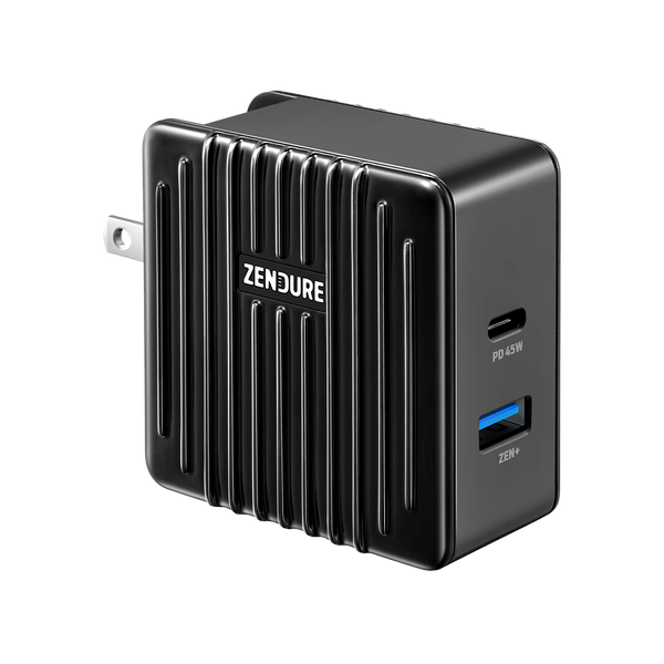 SuperPort 2: 57W Power Delivery Wall Charger - Black