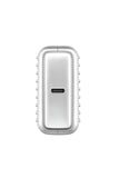 SuperMini 10,000mAh USB-C PD Portable Charger - Silver