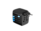 PRE-ORDER Passport GO 30W Global Travel Adapter - Black