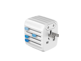 Passport GO 30W Global Travel Adapter - White