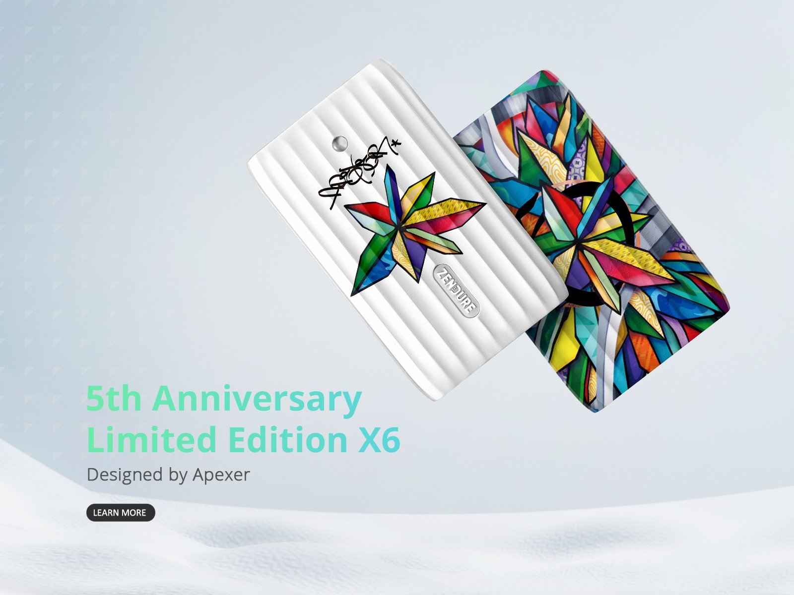 Limited Edition X6 Portable Charger