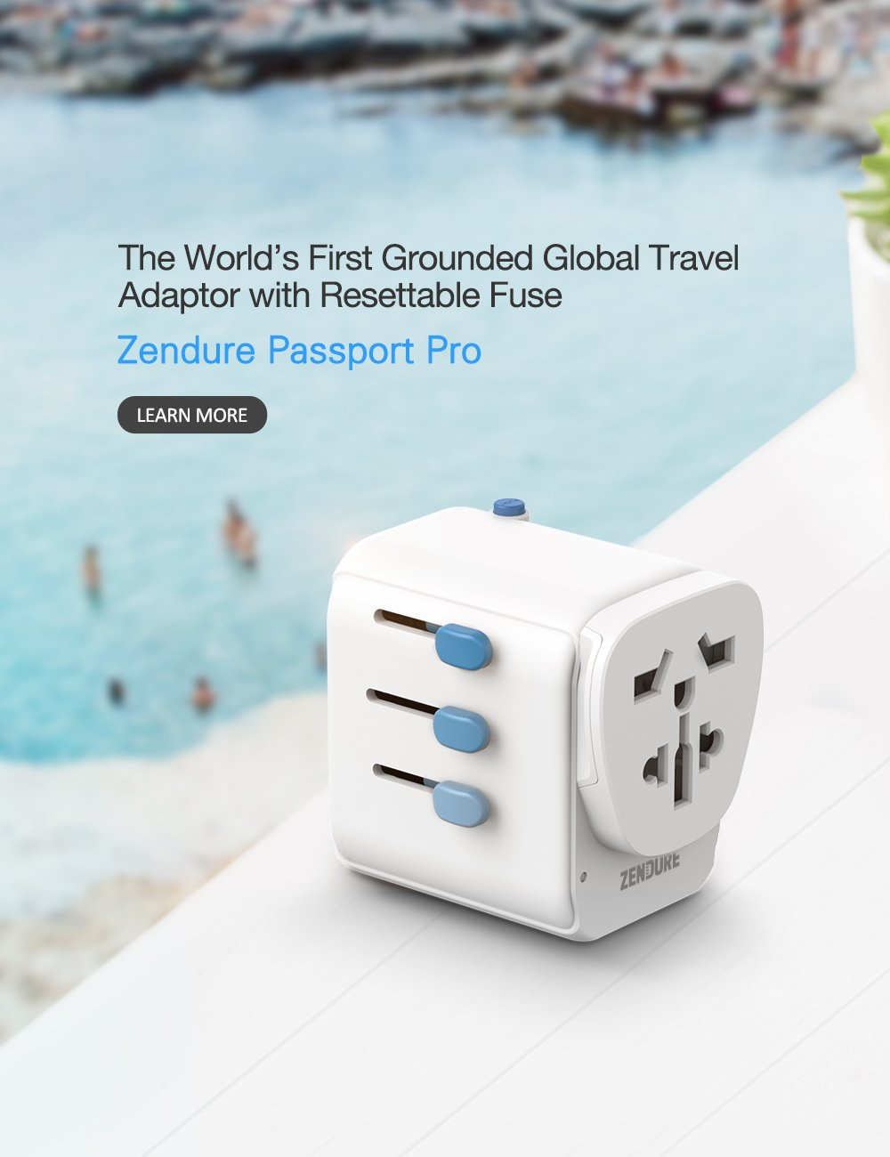 World's Safest Travel Adapter