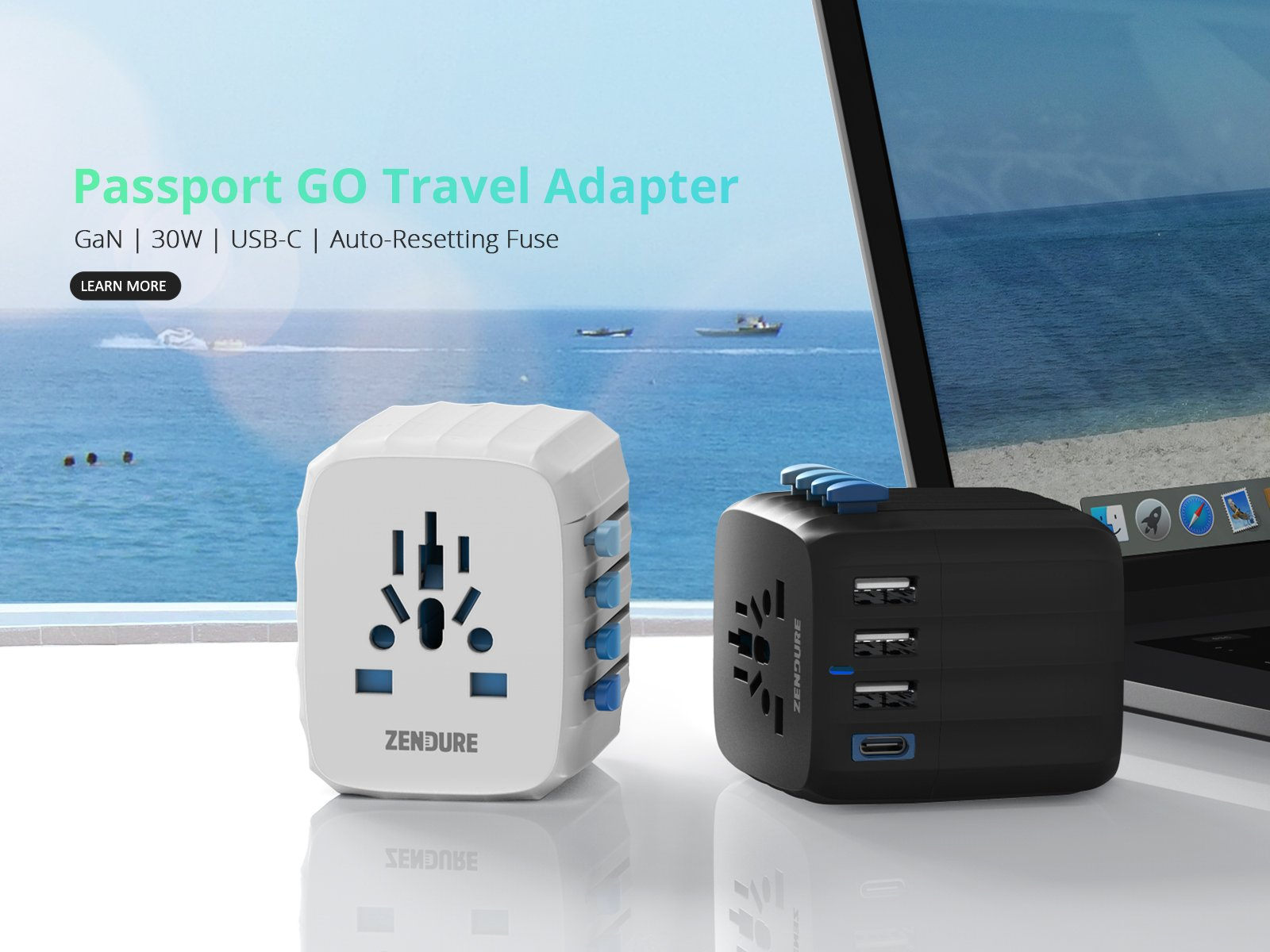 Passport GO Travel Adapter