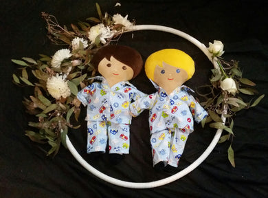 LAST CHANCE Doll with boys pajamas
