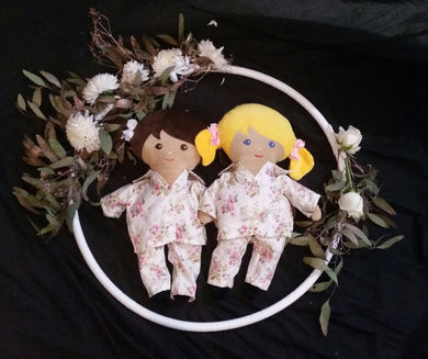 LAST CHANCE Doll with girls pajamas