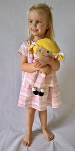 Smock Dress - Candy Stripe Set