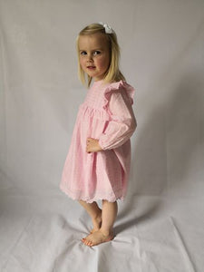 Winter Dress Set - Pink