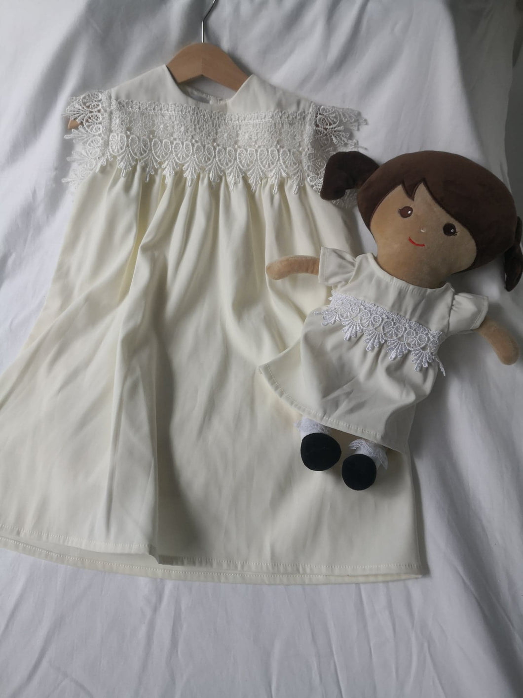 Christening Gown Set - Cream