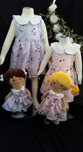 Load image into Gallery viewer, LAST CHANCE Bluebell Pink Dress and Doll set