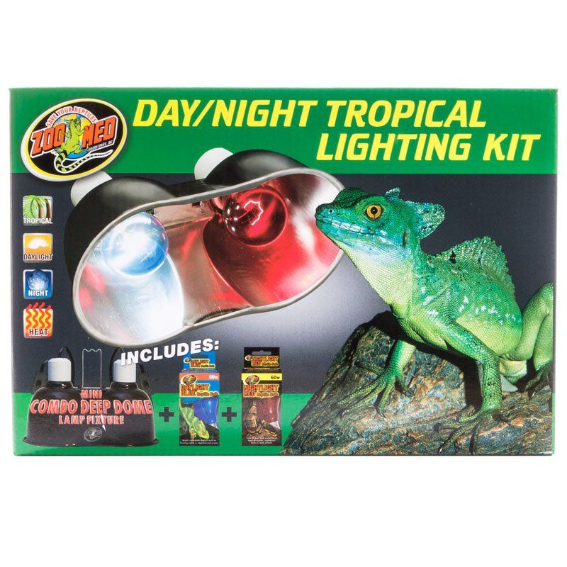 Zoo Med Day & Night Tropical Lighting Kit