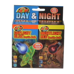 Zoo Med Day & Night Reptile Bulbs Combo Pack