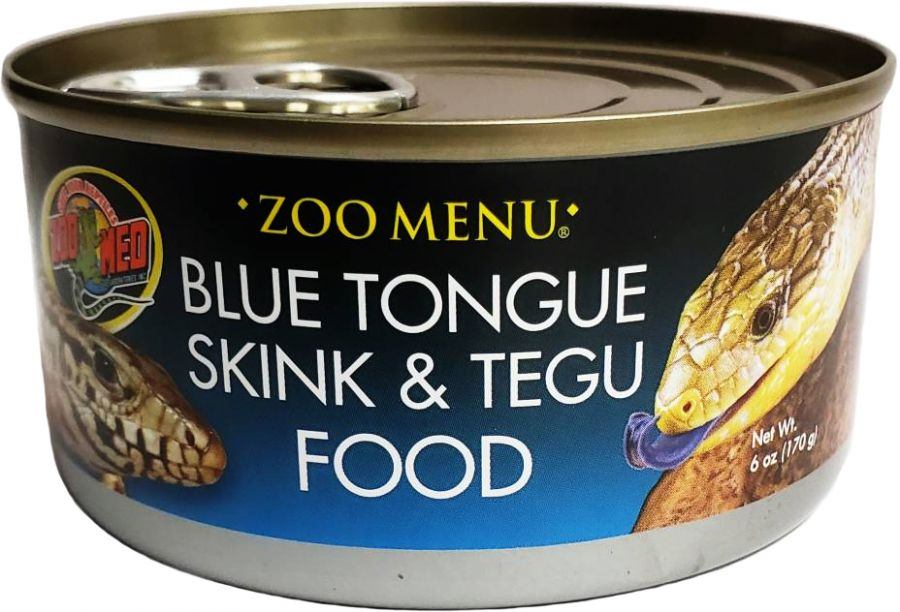 Zoo Med Blue Tongue Sking and Tegu Food Canned
