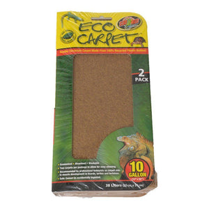 Zoo Med Reptile Eco Carpet Green or Brown