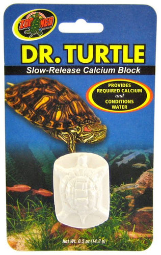 Zoo Med Dr. Turtle Slow Release Calcium Block