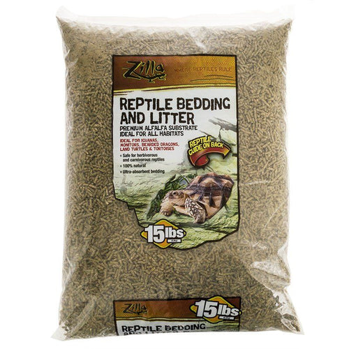 Zilla Reptile Bedding & Litter - Alfalfa Substrate