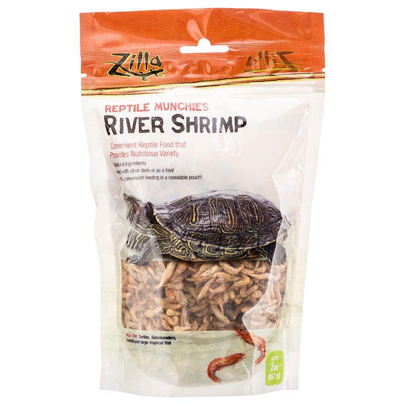 Zilla Reptile Munchies - River Shrimp