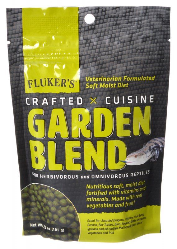 Flukers Crafted Cuisine Garden Blend Reptile Diet