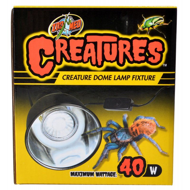 Zoo Med Creatures Creature Dome Lamp Fixture