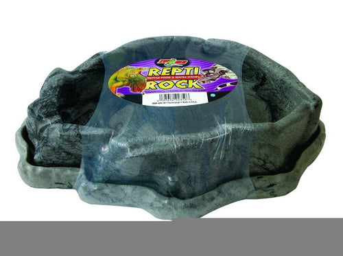 Zoo Med Combo Reptile Rock Food/Water Dish Extra Large
