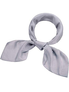 Satinior Chiffon Scarf Square Handkerchief Satin Ribbon Scarf Neck Scarf for Women Girls Ladies Favor