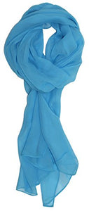 Ted and Jack - Solid Color Silk Blend Lightweight Accent Scarf