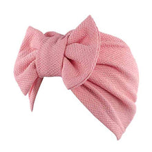 Load image into Gallery viewer, HGWXX7 Women Solid Bow Cancer Chemo Hat Beanie Scarf Turban Head Wrap Cap Headbands
