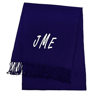 KYS Womens Personalized Cashmere Feel Scarf