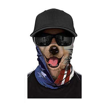 Load image into Gallery viewer, [NEW STYLE]3D Animal Neck Gaiter Warmer Windproof Face Mask Scarf, Microfiber Multifunctional Headwear for Motorcycle Riding