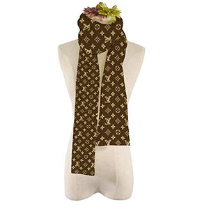 SCOBEE Fashion Luxury Cashmere/Wool Scarf Warm Large Square Scarves Silk Shawl for Women Men