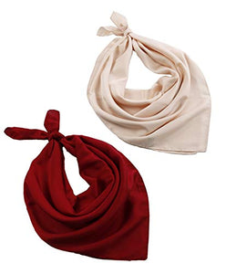 2 Packs Luxury Satin Silk Hair Scarf For Women, 30-Days Money Guarantee Back