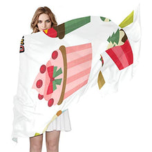 Load image into Gallery viewer, Women Silk Scarf Childhood Dream Jobs Personalized for Women Vacation Winter Decor