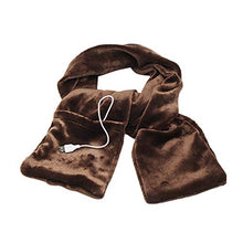 Load image into Gallery viewer, Allywit USB Heated Scarf-Powered Heated Neck Wrap for Men and Women as Warming Scarf with Pockets