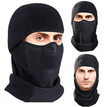 Load image into Gallery viewer, Omenex Winter Outdoor Windproof Thermal Fleece Half Face Mask Facemask Scarf Snowboard Snowmobile Snow Ski Sled Motorcycle Cycling Bike Hiking Skateboard (Long Neck Style)